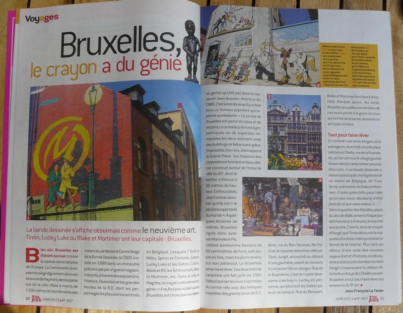 """Mag. """"Notre Temps Jeux"""" avec Asterix (juin 2011) P1170911"""
