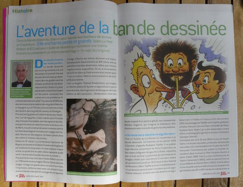 """Mag. """"Notre Temps Jeux"""" avec Asterix (juin 2011) P1170912"""