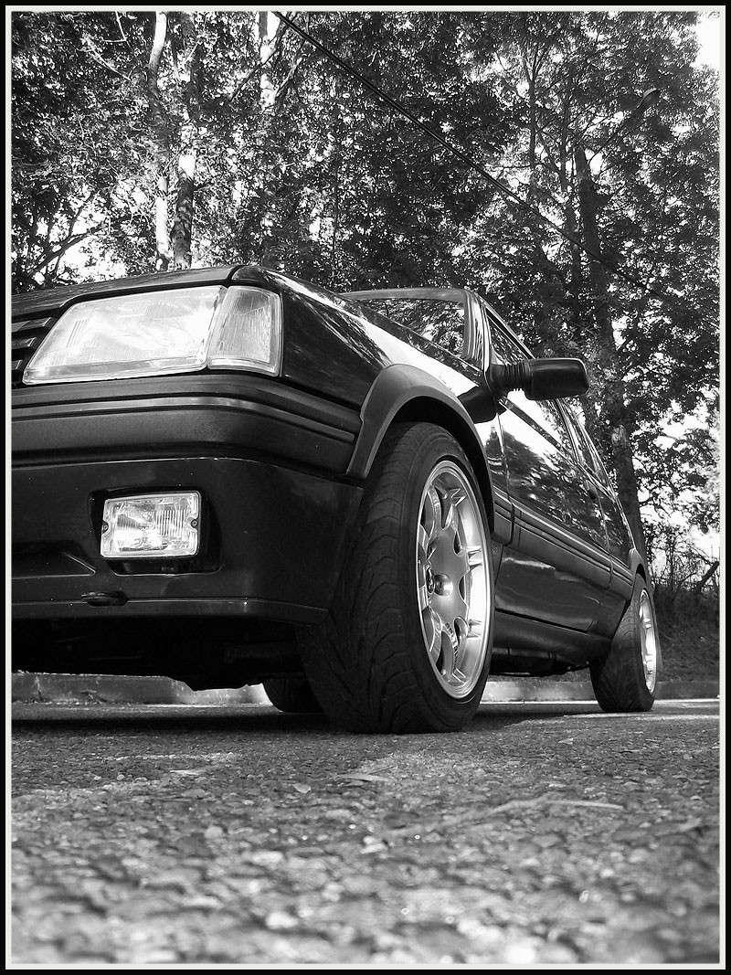 [GTI1800] 205 GTI 1L9 Gris Graphite AM92  274210