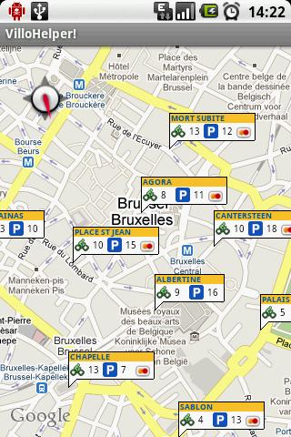 [SOFT] VILLOHELPER : Location de vélos à Bruxelles,Belgique [Gratuit] 010