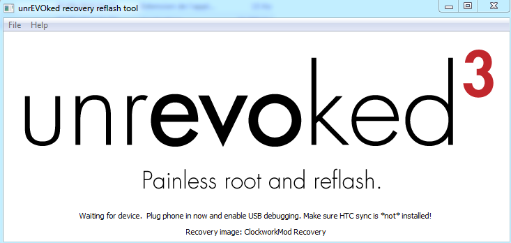 [TUTO] unrEVOked 3.32 : Rooter et Installer un recovery permanent (ANDROID toute version) Captur15