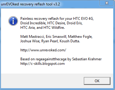 [TUTO] unrEVOked 3.32 : Rooter et Installer un recovery permanent (ANDROID toute version) Captur19
