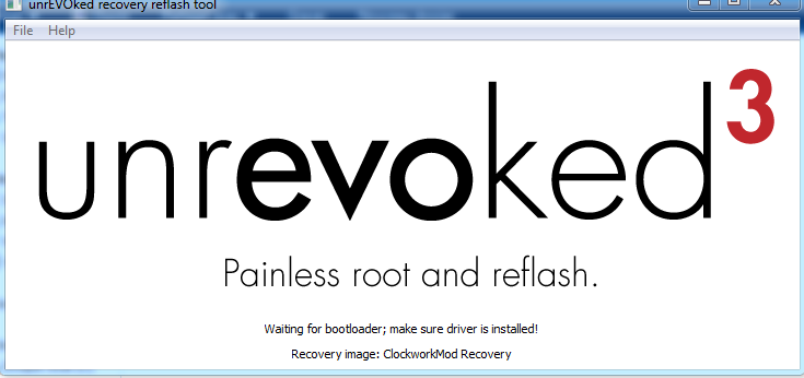 [TUTO] unrEVOked 3.32 : Rooter et Installer un recovery permanent (ANDROID toute version) Captur20