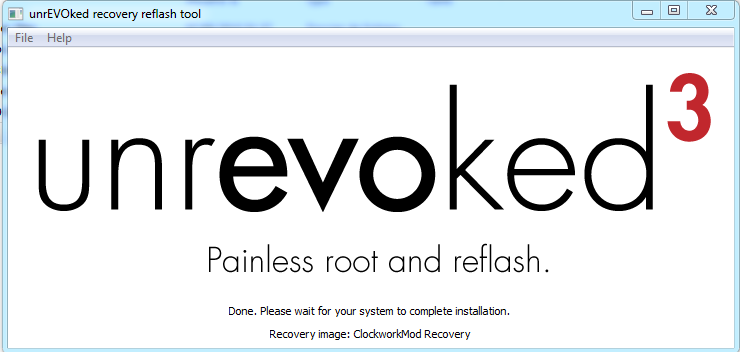 [TUTO] unrEVOked 3.32 : Rooter et Installer un recovery permanent (ANDROID toute version) Captur22