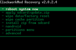 [TUTO] unrEVOked 3.32 : Rooter et Installer un recovery permanent (ANDROID toute version) Clockm10