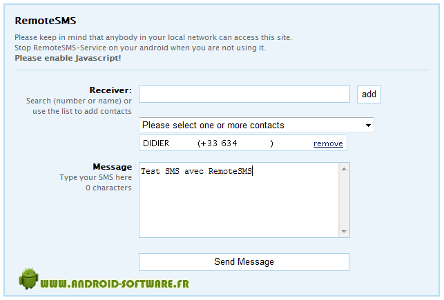[SOFT] Remote sms [Gratuit/Payant] Remote13