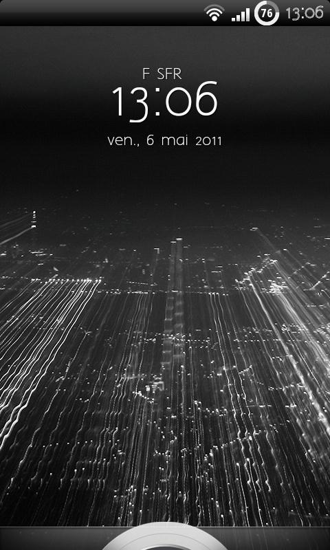 [SOFT] HTC SENSE 3.0 LOCKSCREEN : L'écran de verrouillage de HTC Sense 3.0 [Beta] Snap2022