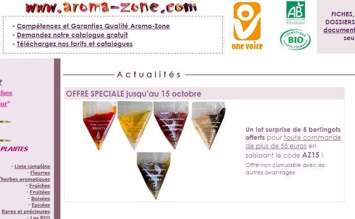AZ : promotions et chèques perso  - Page 12 Aroma10