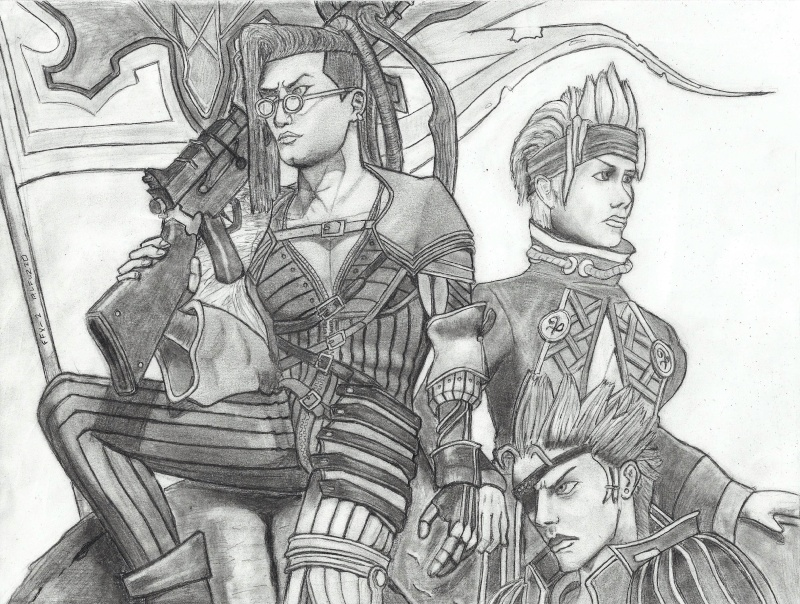 some stuff i drew/painted... Ffx211