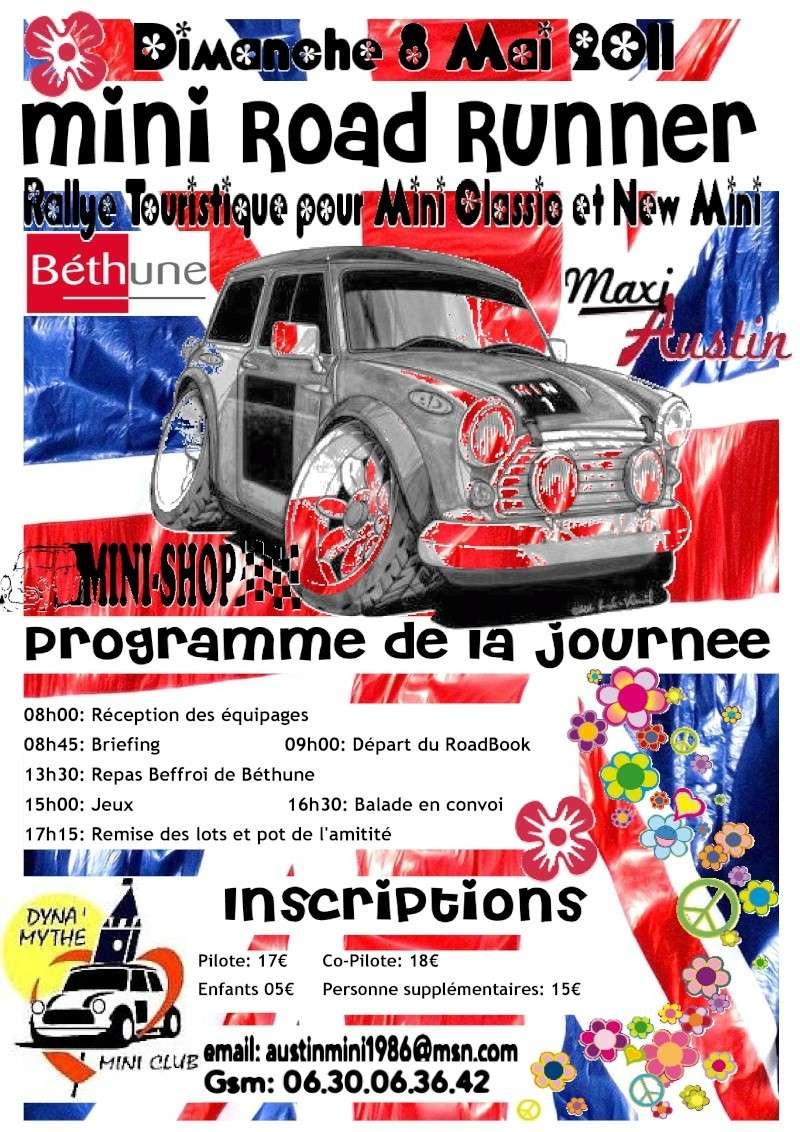 Mini Road Runner - 8 mai 2011 - Béthune 62400 Presen10