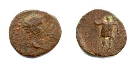 Semis de Tiberio Germánico. Ebusus 121