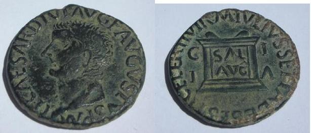 As de Tiberio - Ilici 140