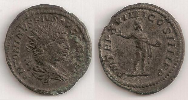 Antoninianos de ceca no oficial y bárbaros A28