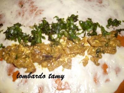 Maloui ou Meloui Marocain au blanc de poulet et miel (salé sucré) Sdc18813
