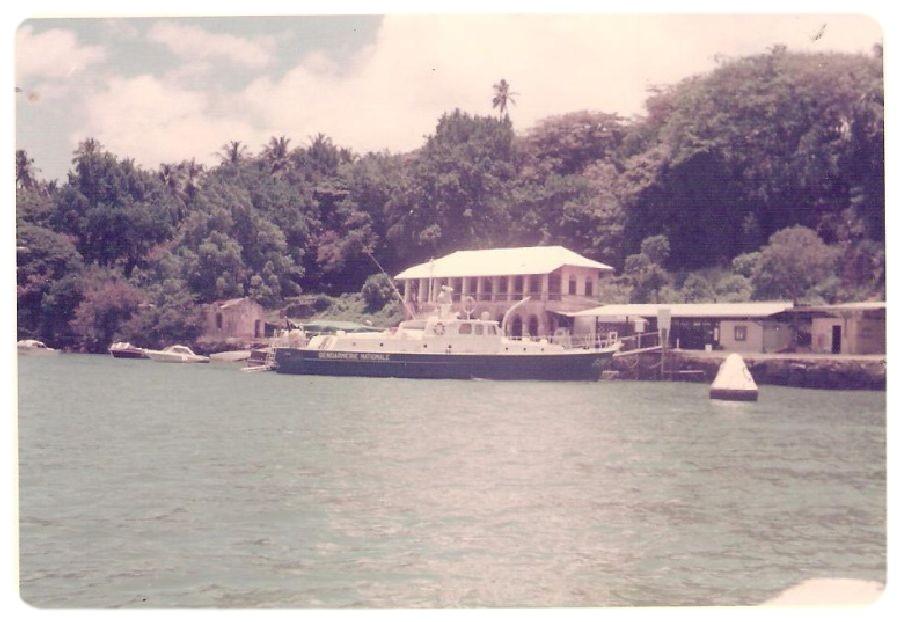 [ Divers Gendarmerie Maritime ] 1977 - Création de la brigade de gendarmerie maritime à Cayenne. P780_g10