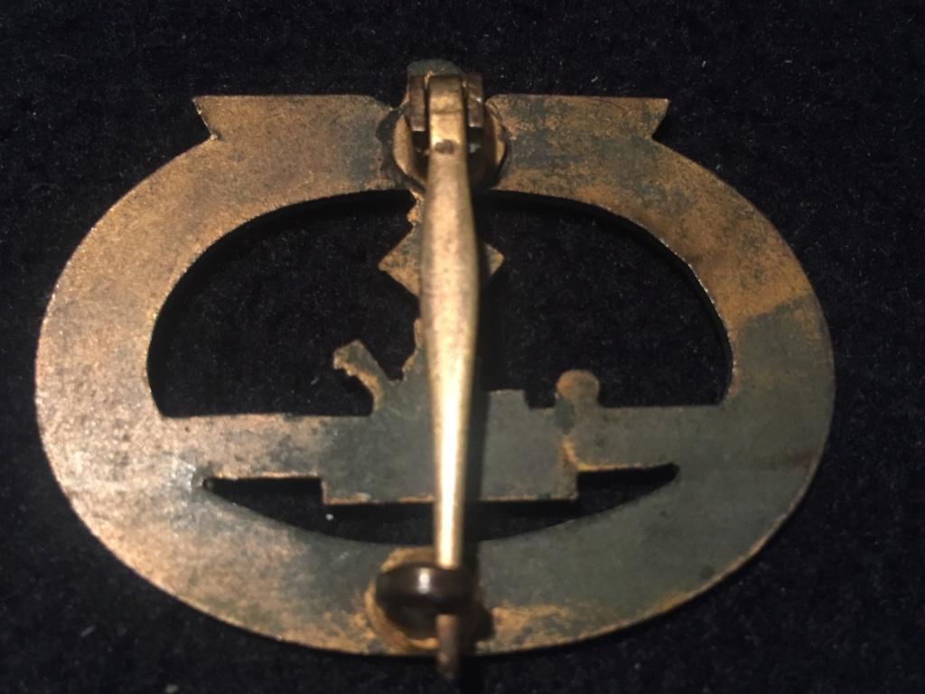 Insigne des destroyers Kriegsmarine Bacqueville - Page 2 Be462e10