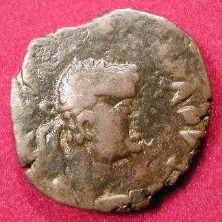 Tetradrachme de bronze (KUJULA KADPHISES ?) 0128d10