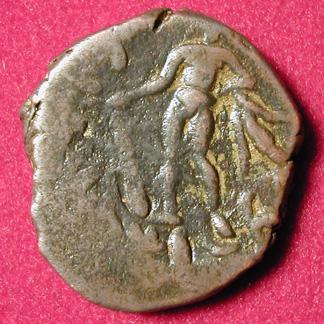 Tetradrachme de bronze (KUJULA KADPHISES ?) 0128r10