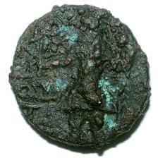 Tetradrachme de bronze (KUJULA KADPHISES ?) 1194d10