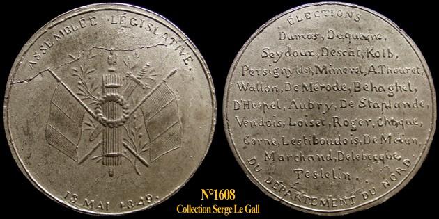 Médailles de la Révolution 1848 (pour Lille) 160810