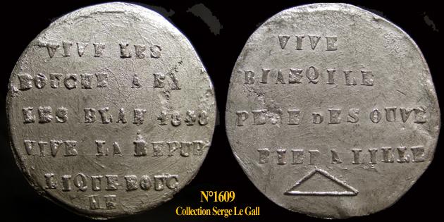Médailles de la Révolution 1848 (pour Lille) 160910