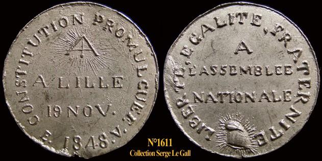 Médailles de la Révolution 1848 (pour Lille) 161110