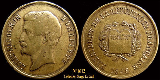 Médailles de la Révolution 1848 (pour Lille) 161210