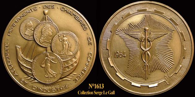Médaille des Chambres de Commerce & d'Industrie 161310