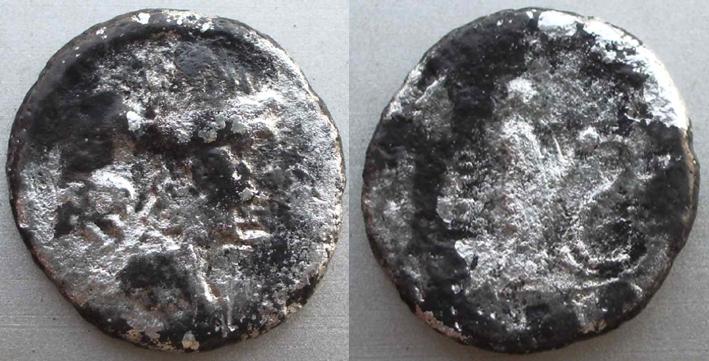 Quinaire de L.Papius Celsus famille papia (45 avjc) Demide10