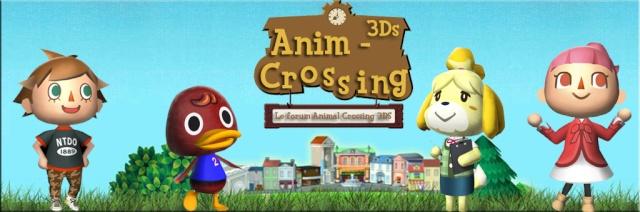 Anim'Crossing'3DS vous souhaite la bienvenue !