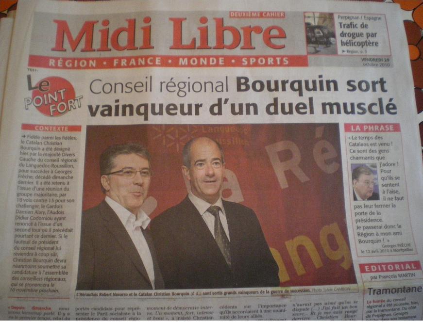 LIGUE et INFOS DIVERSES LANGUEDOC ROUSSILLON Imgp2120