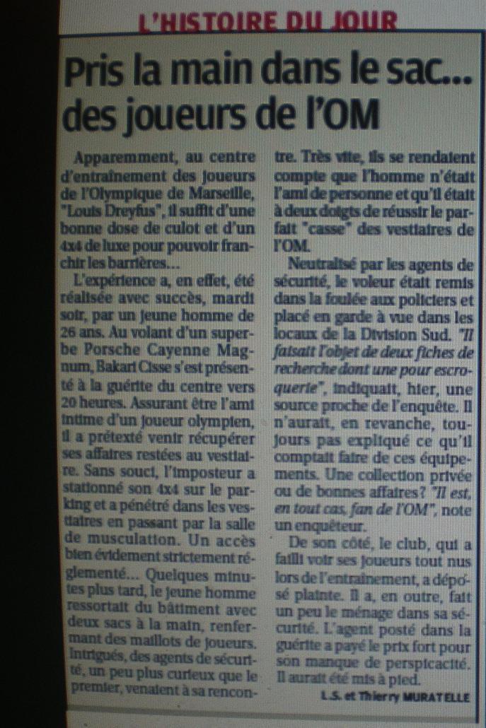 """CENTRE D """"ENTRAINEMENT ROBERT LOUIS DREYFUS ;;LA COMMANDERIE  Imgp6332"""