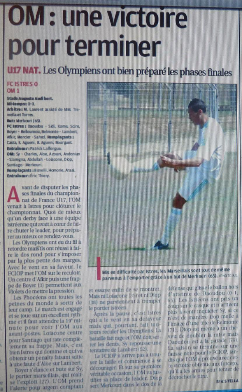 FC ISTRES B  // DHR  MEDITERRANEE  et AUTRES JEUNES  - Page 3 P1160813