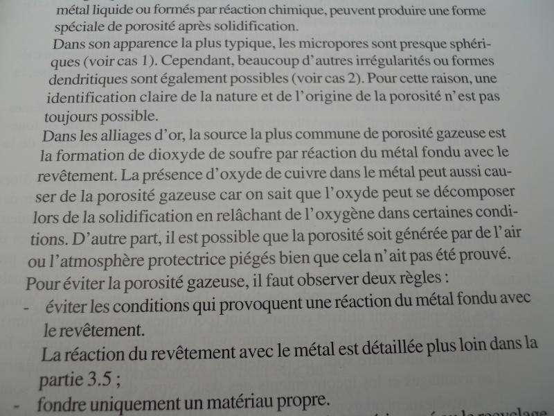 defaut de la fonte - Différence de densité entre la fonte et le laminé.................. - Page 2 03511