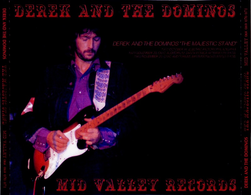 DEREK & THE DOMINOS LIVE AOUT-DECEMBRE 1970 Majest10