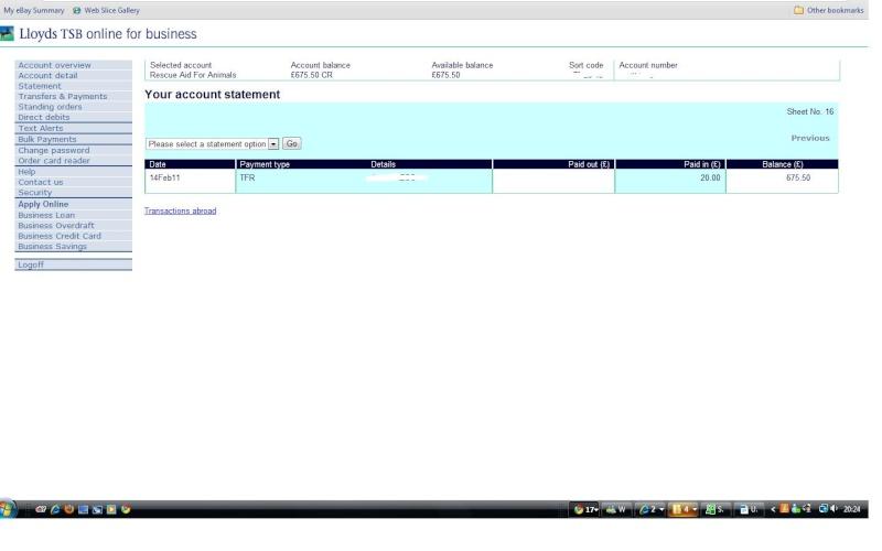 RAFA Bank Account Bank_f10