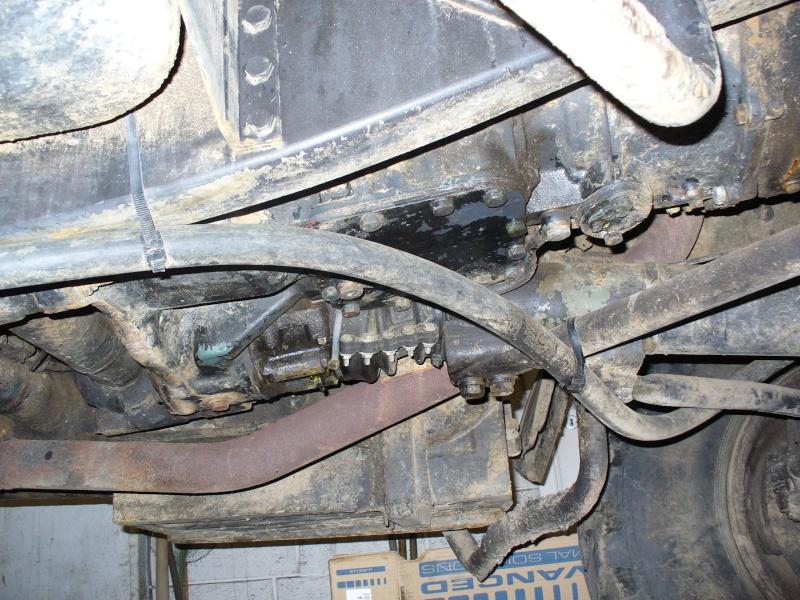 Fuite d huile tube de poussée av P1000614