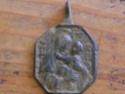 Médaille Vierge & Jésus / St-Michel - XVIIème Medail11