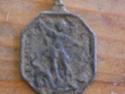 Médaille Vierge & Jésus / St-Michel - XVIIème Medail12