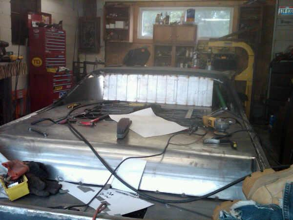 New bed in the El Camino (Progress) L_4f4410