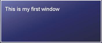 RGSS = Scripting Basics - Window Class 1stwin10
