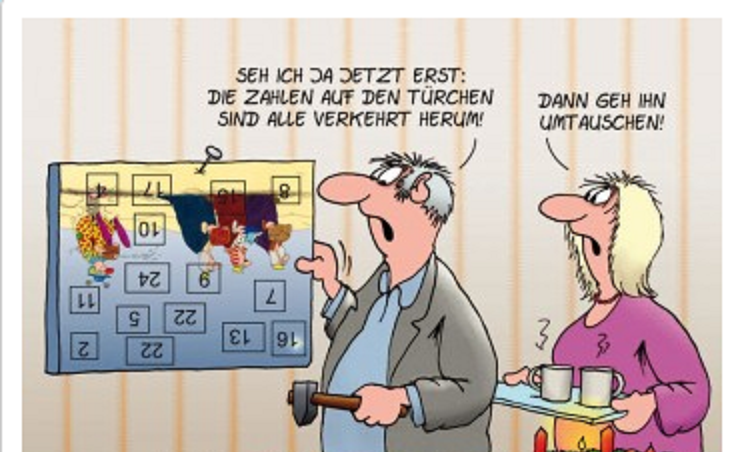 Advent, Advent! 1a10