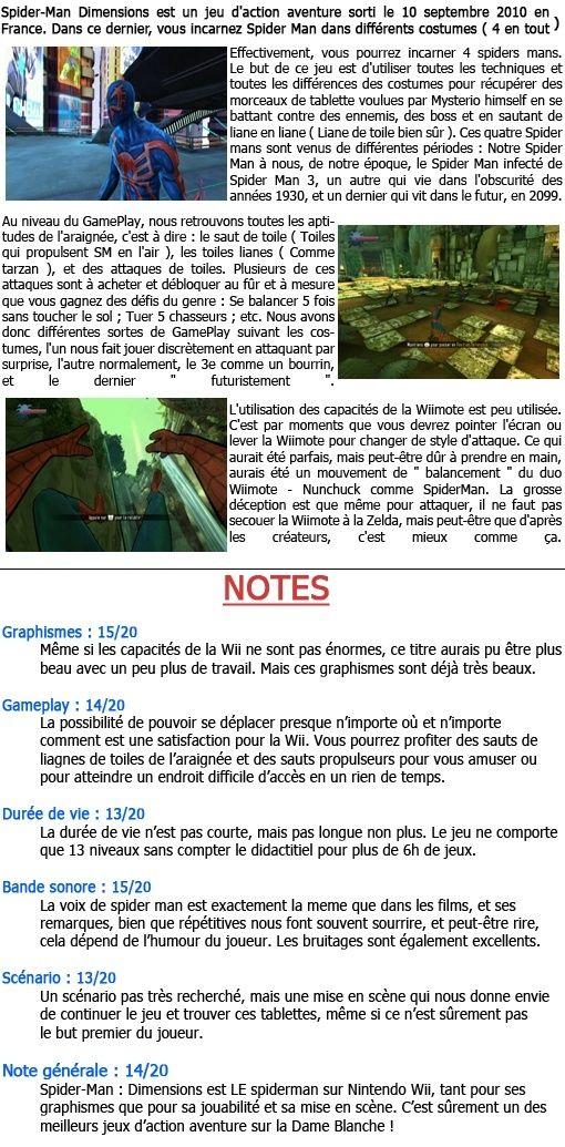 [Wii] Spider-Man Dimensions Spider10