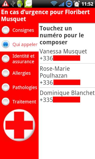 [SOFT] EN CAS D'URGENCE : Informations utiles en cas d'accident [Payant] Appele10