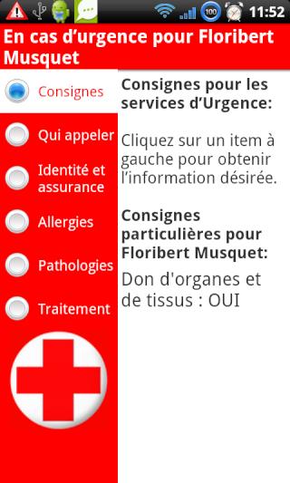 [SOFT] EN CAS D'URGENCE : Informations utiles en cas d'accident [Payant] Consig10