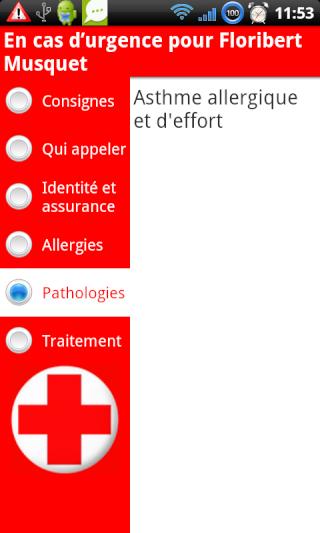 [SOFT] EN CAS D'URGENCE : Informations utiles en cas d'accident [Payant] Patho10