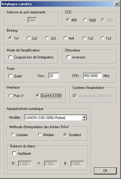 Pose Bulb piloté par PC impossible ? 00210