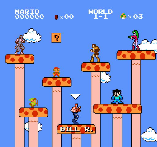 Super Mario Bros. Crossover Crosso10