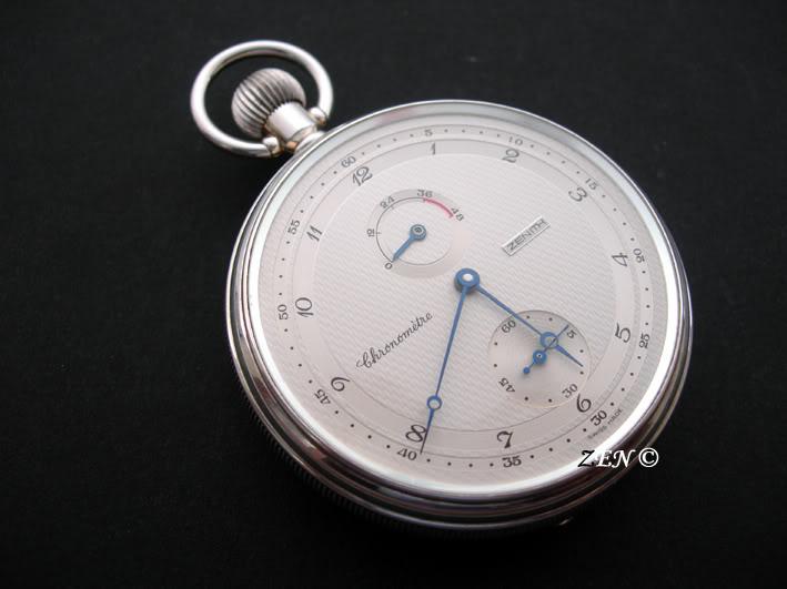 Premier achat de montre de gousset... Pocket10