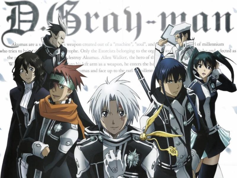 D Gray Man Dgray-10